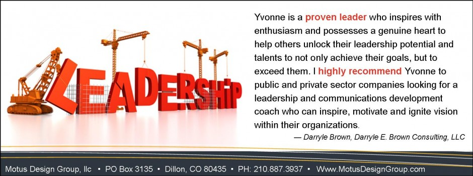 Yvonne Bryant - Leadership 04022013