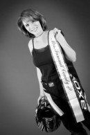 Yvonne Bryant - Mrs. Summit County 2013 motorcycle gear